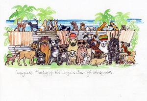 The Inaugural Meeting of the Dogs and Cats of Antigua