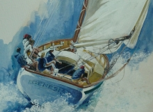 Carriacou sloop Genesis